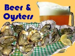 BBQ'd Oysters & Beer